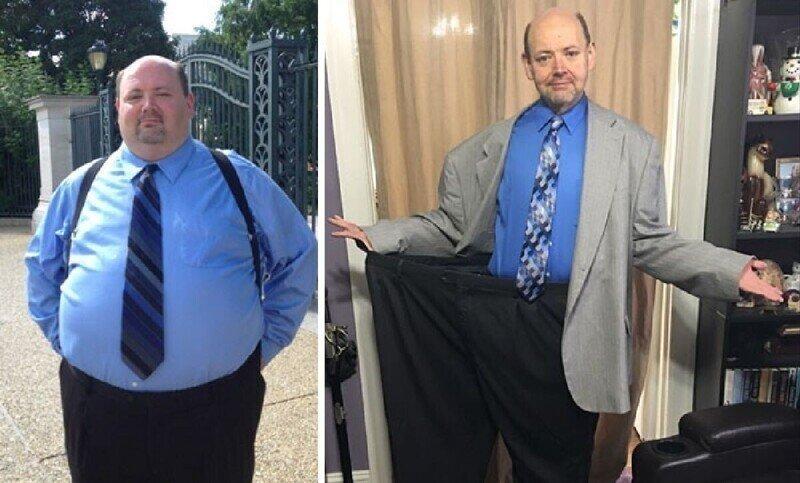 35 героев, сумевших победить в борьбе с лишним весом