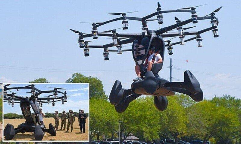 Американские летчики испытали летающий автомобиль