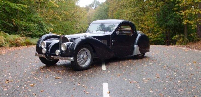 Type 57S Atalante: 83-летний Bugatti по цене трёх новых Chiron