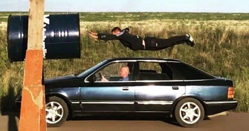 Парень из Ростова пролетел сквозь металлическую бочку на скорости 70 км/ч