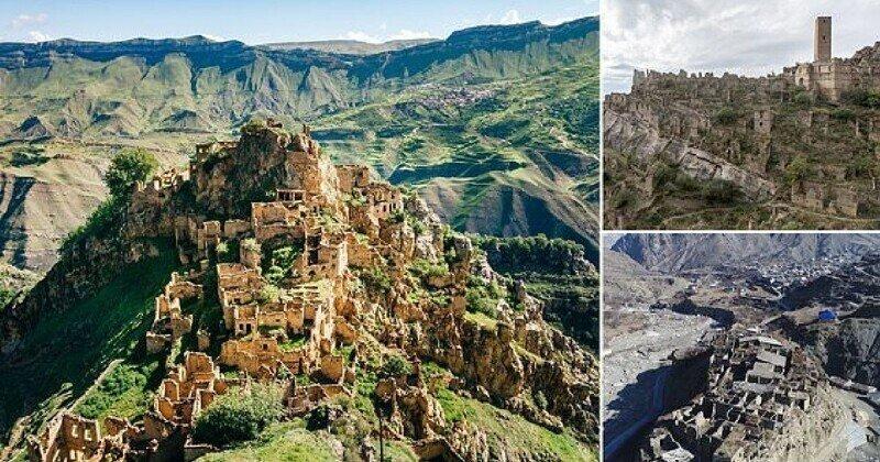Жуткие деревни-призраки Дагестана: фотографии и видео с дронов
