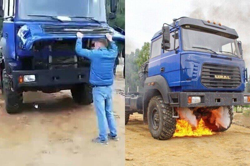 """""""А если бумкнет? Не должно!"""": как испытывают систему пожаротушения """"Урала"""""""