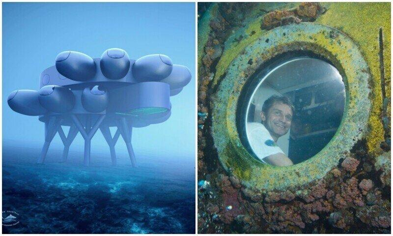 Внук легендарного Жака-Ива Кусто строит исследовательскую базу на дне океана