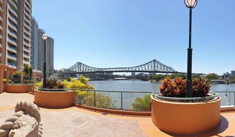Австралийский Брисбен. Центр города