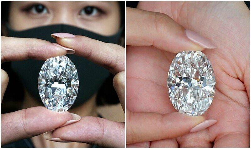 """В Гонконге с молотка уйдет редчайший """"безупречный"""" бриллиант"""