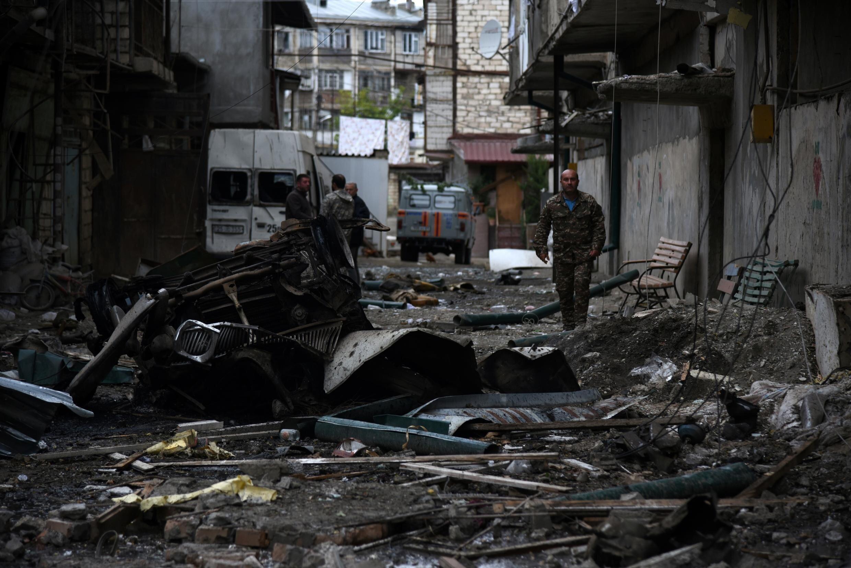 Во что превратился Степанакерт после ударов азербайджанских РСЗО