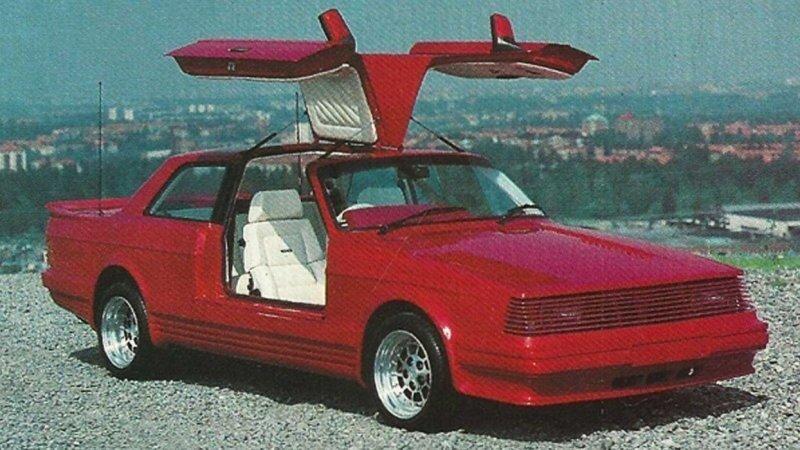 Безумные автомобили, созданные шведским дизайнером в 70-80-е годы