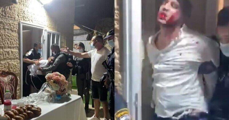 Полицейские штурмом взяли свадебное торжество в Израиле: видео