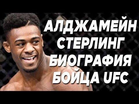Видео про Алджамейна Стерлинга. Биография бойца UFC