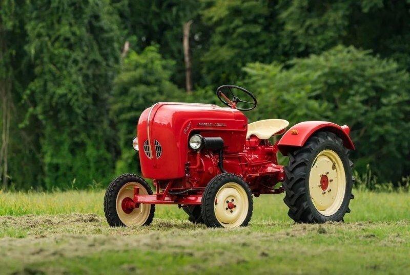 «Junior 108» — cельскохозяйственный трактор от Porsche