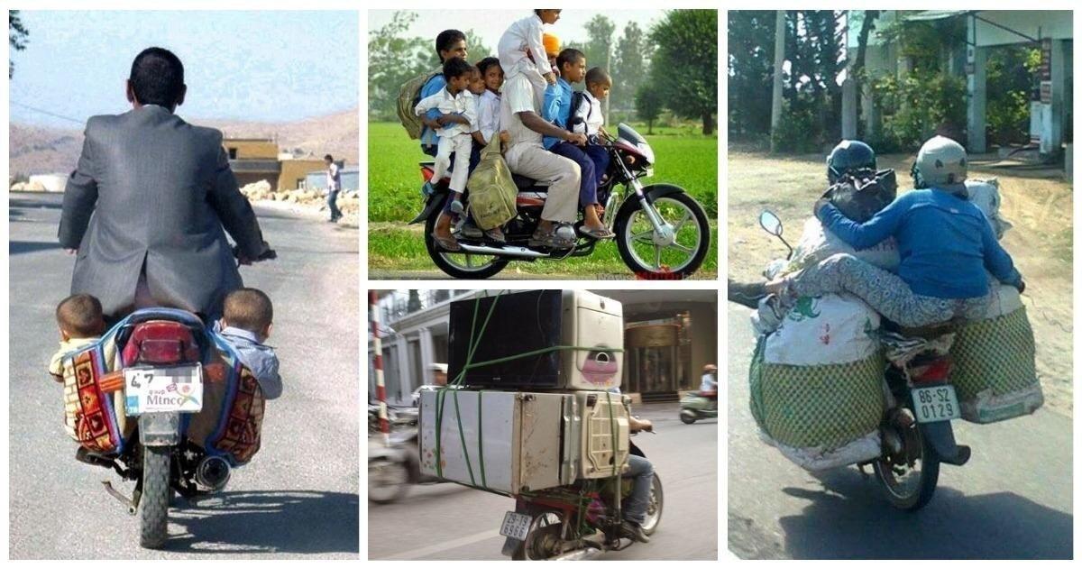 25 доказательств того, что мотоцикл это универсальный помощник
