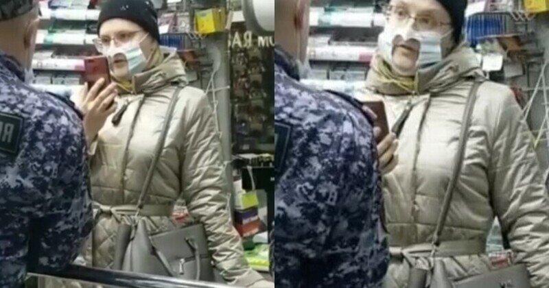 """""""Цирк устроила"""": женщина надела в магазин маску с прорезью, но продавцы креатив не оценили"""