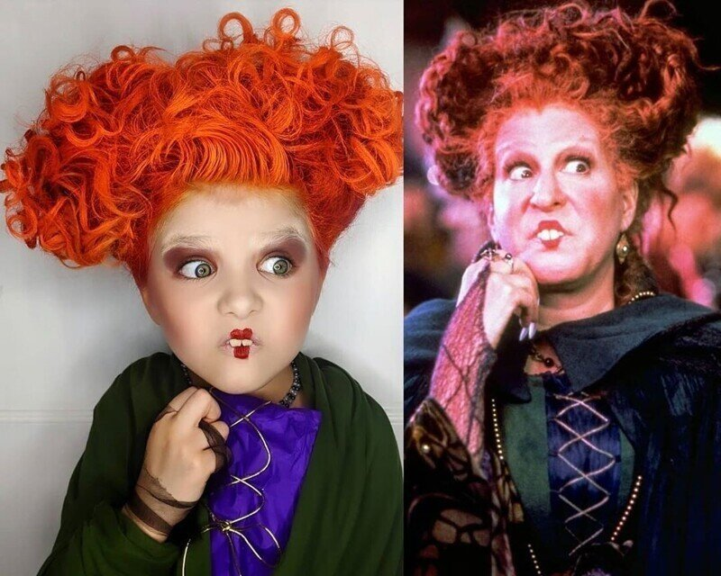 Мама каждый день делала дочкам макияж в стиле знаменитых персонажей