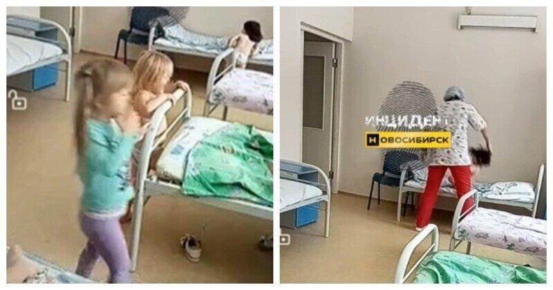 В Новосибирске медсестра тягала за волосы детей, и теперь с ней пообщаются следователи