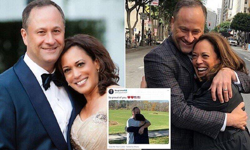 Первый второй: муж нового вице-президента войдет в историю Америки
