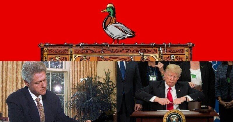 """Что делает """"хромая утка"""" в Белом доме"""