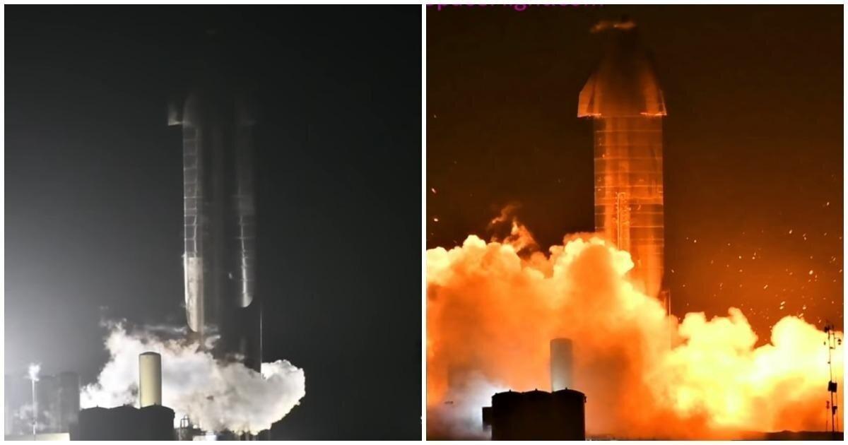 Прототип ракеты SpaceX Starship не прошел очередные огневые испытания