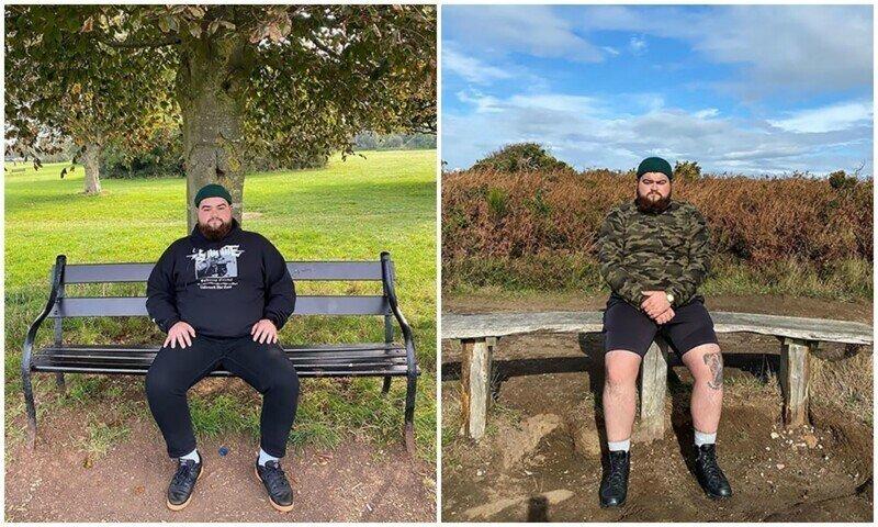 Парень оставляет отзывы о скамейках по всей Великобритании