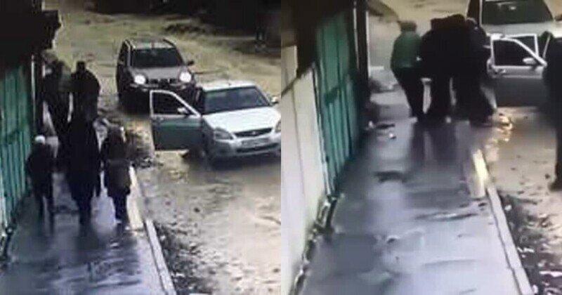 Кавказская пленница: в Хасавюрте мужчина помешал похищению девушки
