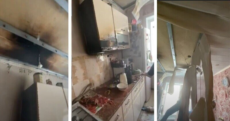 На Сахалине газовщик устроил пожар и потушил его хозяйским борщом