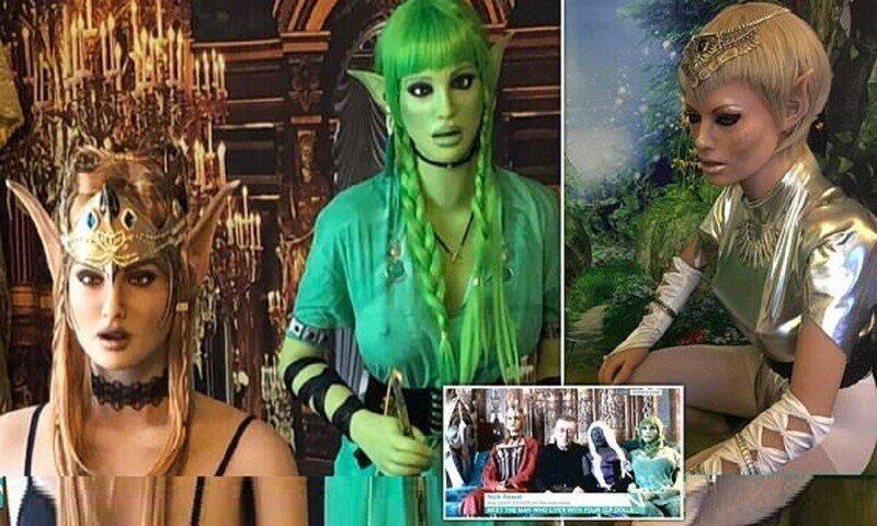 Британец предпочел женщинам эльфиек