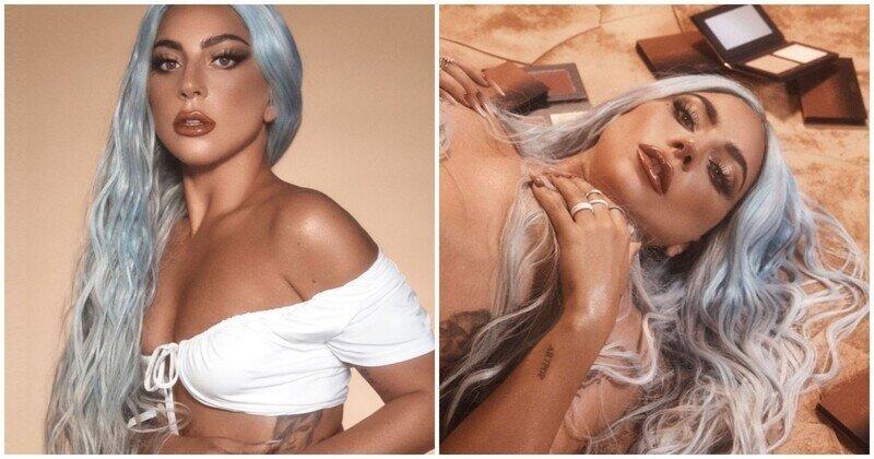 Леди Гага устроила обнаженную фотосессию, и теперь фриком ее назвать уже сложно