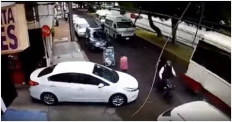 Водитель отомстил преступникам, которые пытались его ограбить
