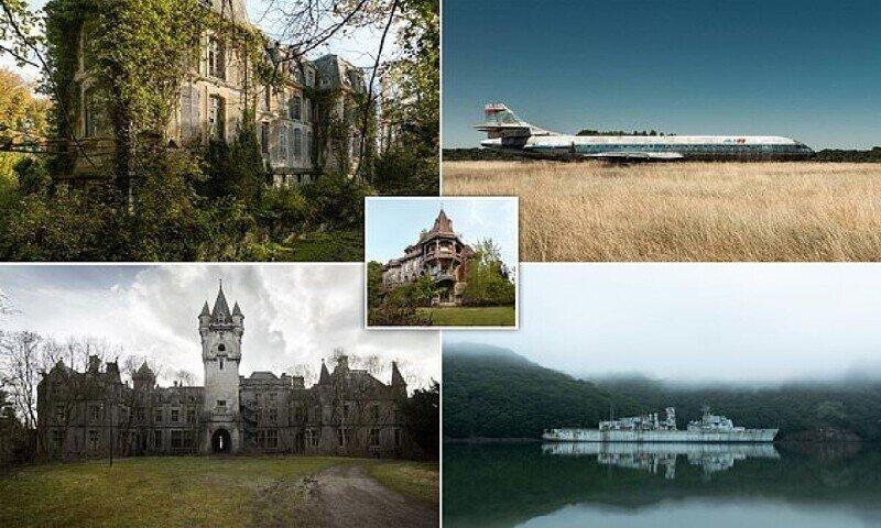Разрушенные замки и военный корабль-призрак: завораживающая красота заброшенных мест