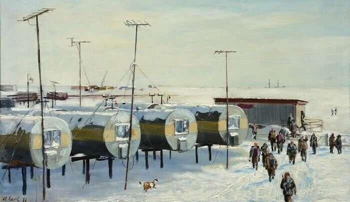 Почему на Севере жили в цистернах