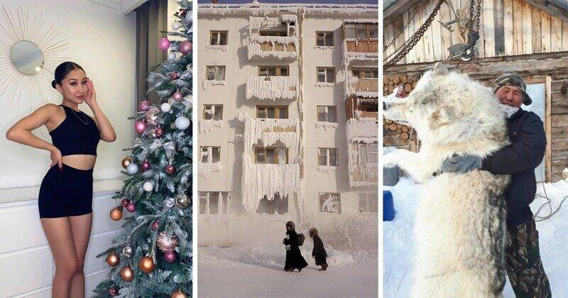 Якутская зима 2020-2021: мороз, охота и красивые девушки