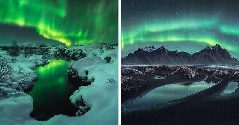 25 победителей фотоконкурса на самое впечатляющее полярное сияние