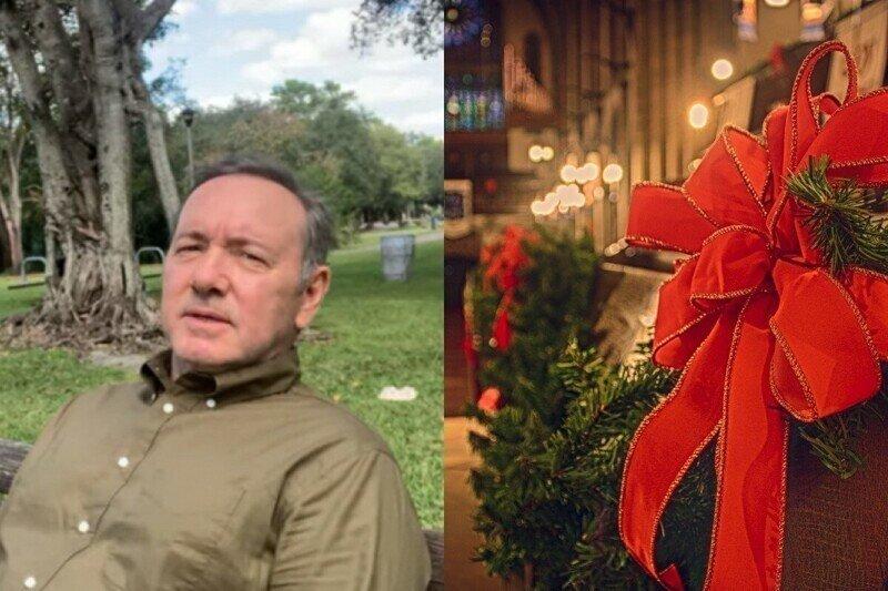 """""""Ты не один"""": Кевин Спейси записал новое рождественское обращение"""