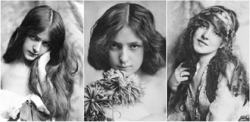 20 портретов девушки, которая установила стандарты женской красоты в начале 20 века