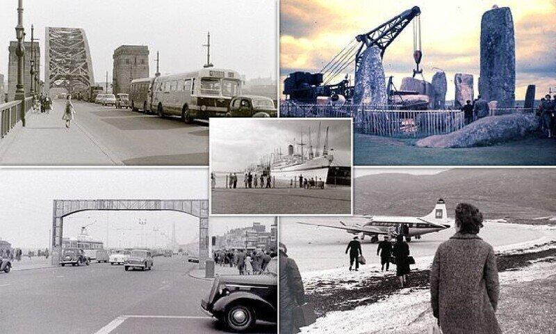 Фотографии из поездок по Великобритании в 50-е и 60-е годы