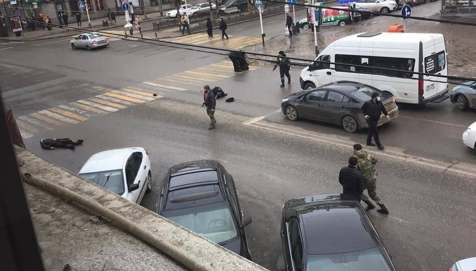 В центре Грозного боевики напали на полицейских