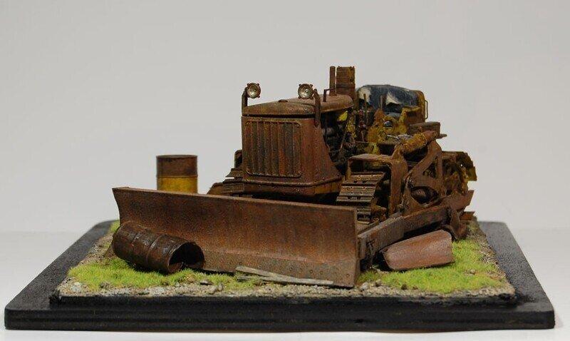 U.S.Army Bulldozer CaterpillarD7,МиниАрт,1/35