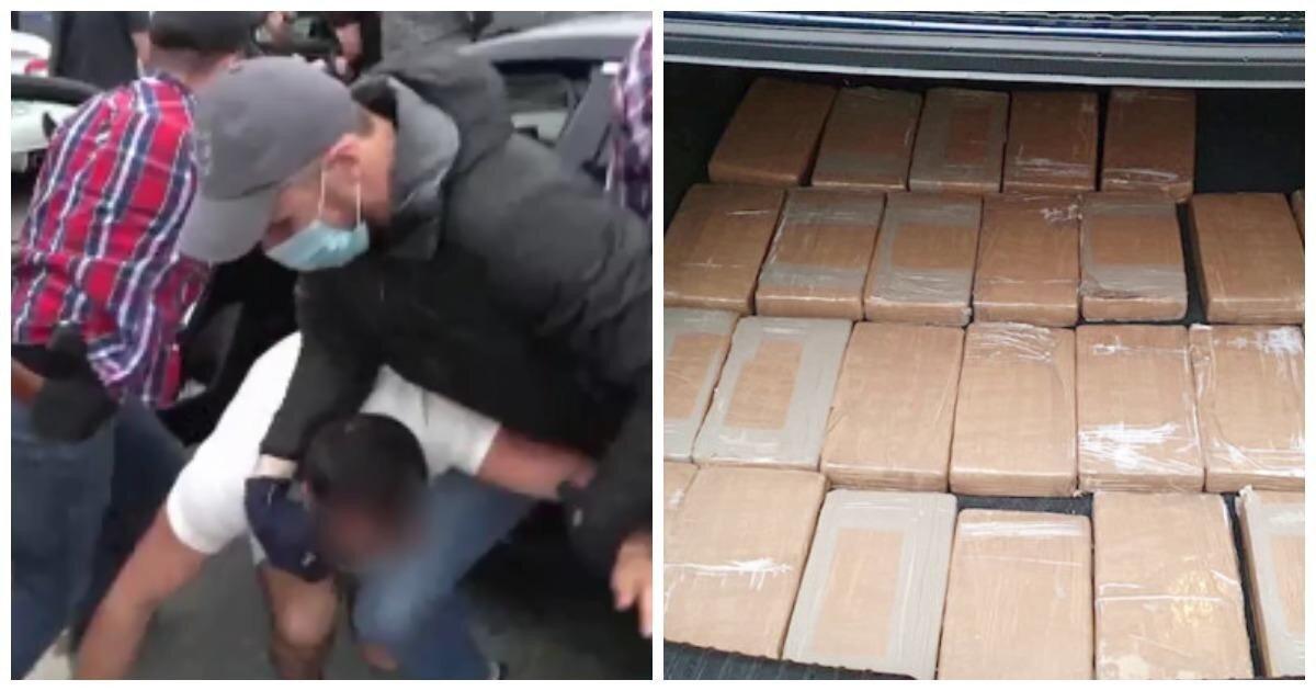 ФСБ совместно с Минюстом США изъяла кокаин на миллиард рублей