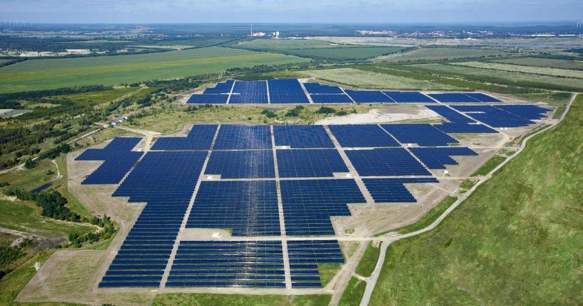 Solarpark Meuro: солнечная энергетика вместо угля