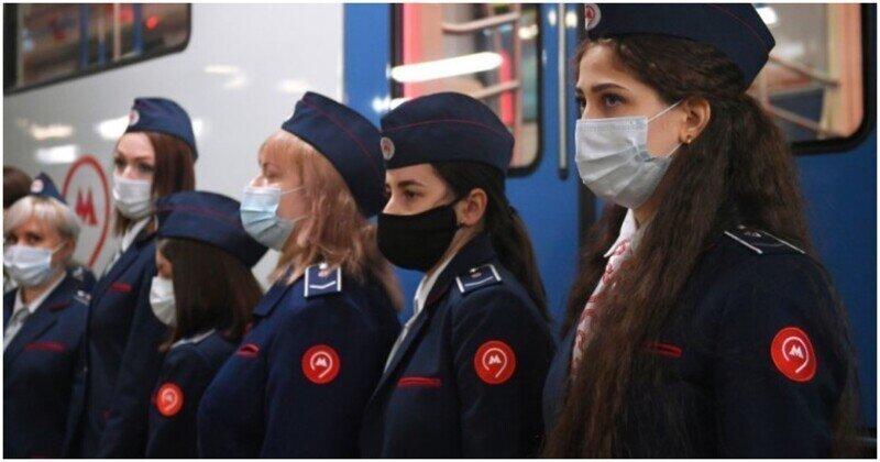 Первый поезд, под управлением женщины-машиниста, запущен в московском метро