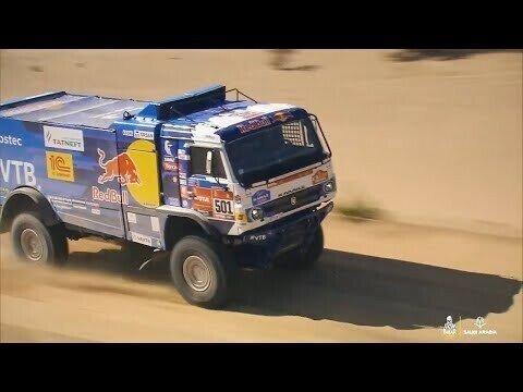 КАМАЗ-мастер на гонке Дакар 2021 — 3 января. Дмитрий Сотников выиграл 1-й этап