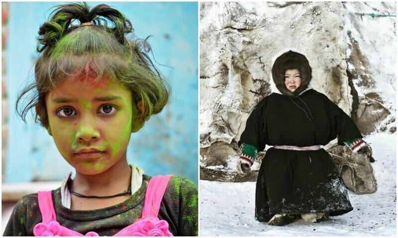 Фотограф показал, как выглядит детство в разных уголках планеты