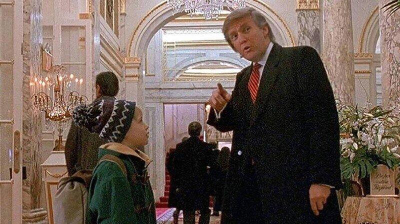 """Трампа предложили вырезать из фильма """"Один дома"""""""