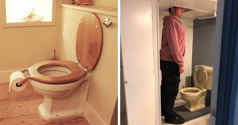 17 странных дизайнов ванных комнат и туалетов