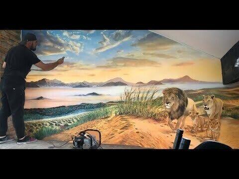 Львы на рассвете