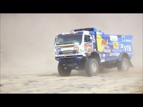Дакар 2021, 14.01 — за день до финиша, режим доезда. Ралли Дакар из кабины болида КАМАЗ-мастер