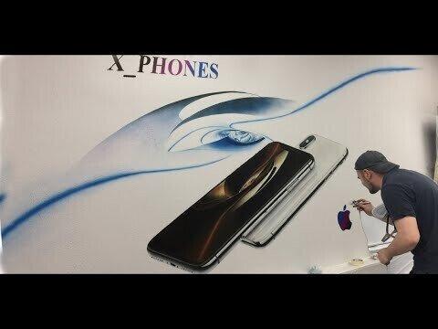 Рисунок Iphone X
