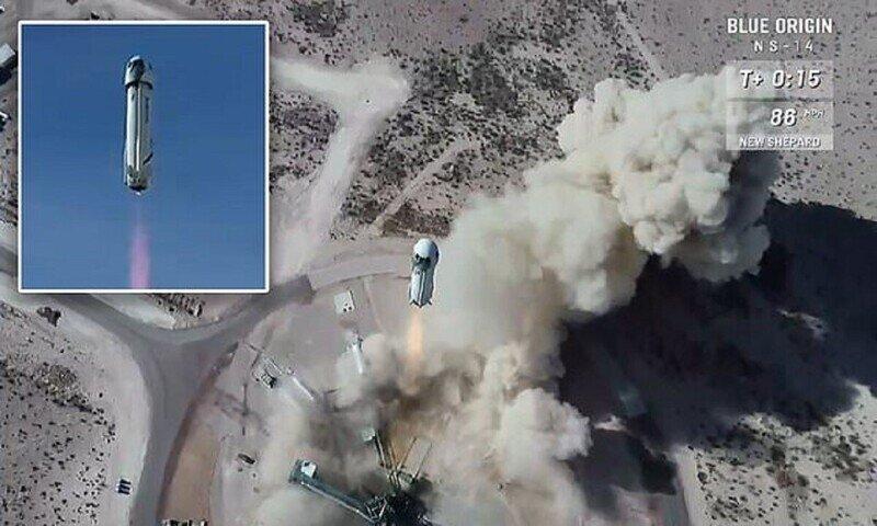 Джеффу Безосу до открытия космического бизнеса осталось одно испытание