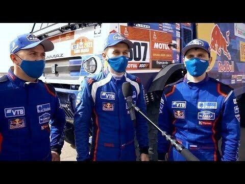 Блистательная победа! Три КАМАЗа — на подиуме Дакар 2021