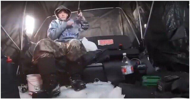 Отличный улов на зимней рыбалке