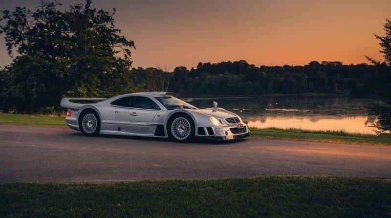 Mercedes-Benz CLK GTR – гоночный болид для дорог общего пользования